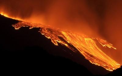 immagine Eruzione Etna